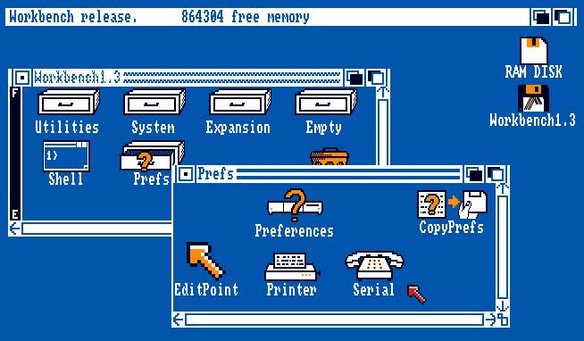 transfer files between an Amiga and a PC - adf tutorial